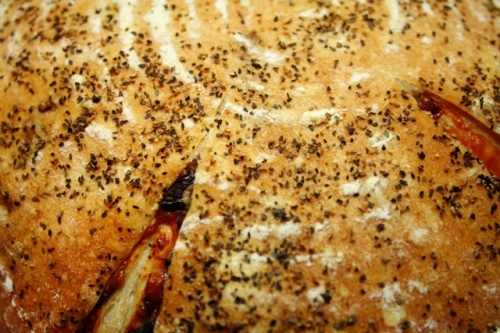 sun-dried parmesan bread